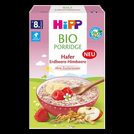 HiPP Porridge Hafer Erdbeere-Himbeere