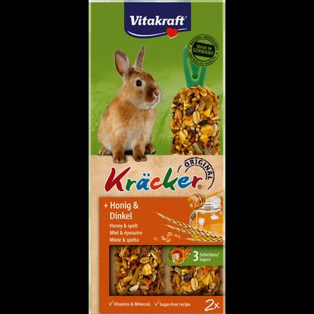 Vitakraft Kräcker Honig Dinkel Zwergkaninchen