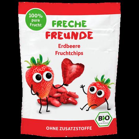 Freche Freunde Fruchtchips Erdbeere