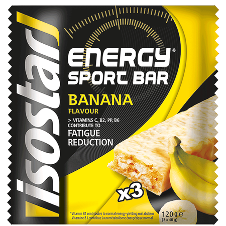 isostar Energy Sport Bar Riegel Banana
