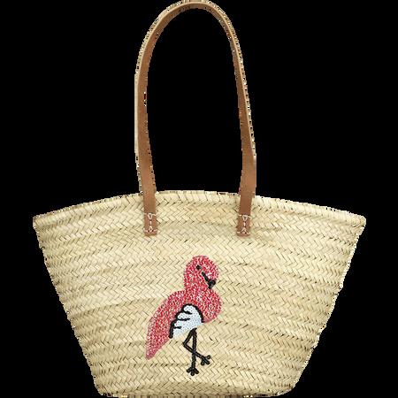 LOOK BY BIPA Strandkorb Flamingo