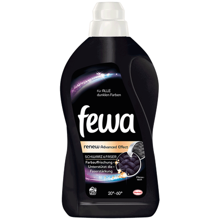 Fewa Waschmittel Brilliant Black