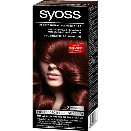 syoss PROFESSIONAL dauerhafte Coloration