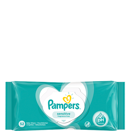 Pampers Feuchte Tücher Sensitive