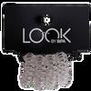 Bild: LOOK BY BIPA Spiral Zopfhalter transparent klein
