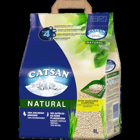 CATSAN Natural extra saugstarke Klumpstreu