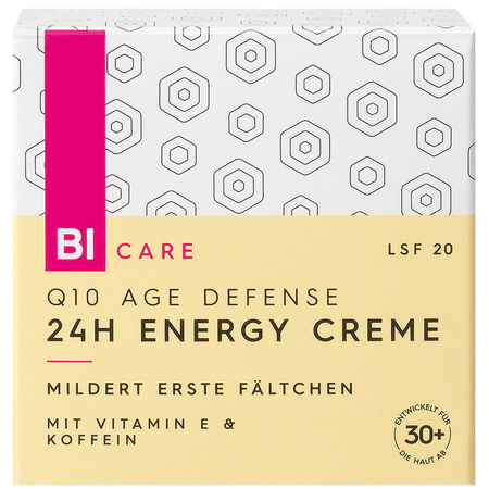 BI CARE Q10 Age Defense 24H Energy Cream LSF 20