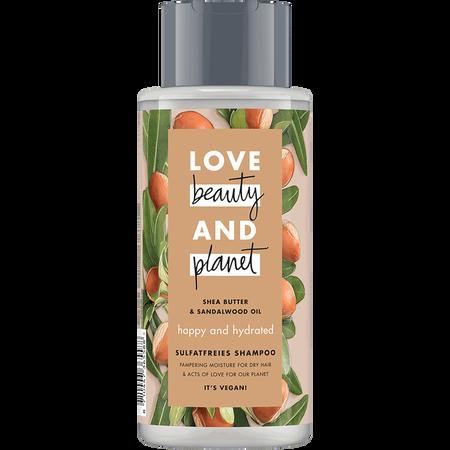 Love Beauty &  Planet Happy & Hydrated Shampoo Shea Butter & Sandalwood Oil