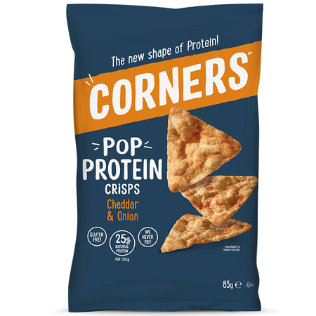 CORNERS Pop Protein Crisps Cheddar & Onion