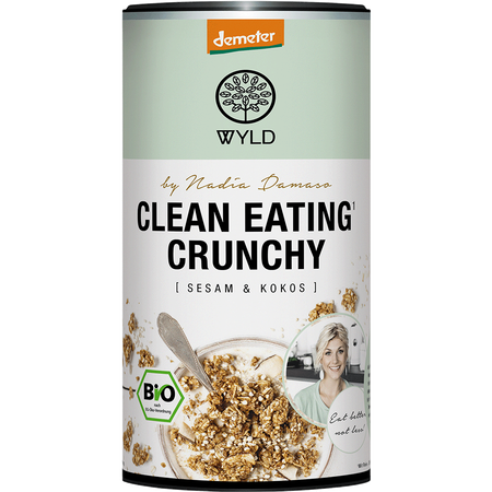 WYLD Clean Eating Crunchy Sesam & Kokos Müsli