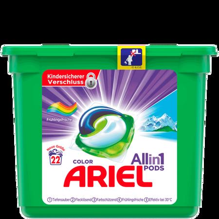 ARIEL All in 1 Color Farbschutzmittel Frühlingsfrische Pods