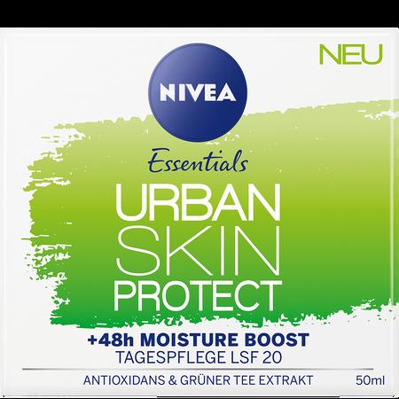NIVEA Essentials Urban Skin Protect Tagespflege LSF 20