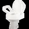 Bild: FRÜHWALD Toilettenstuhlerhöhung mit Armlehne