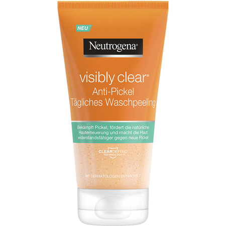 Neutrogena Visibly Clear Anti-Pickel Tägliches Waschpeeling