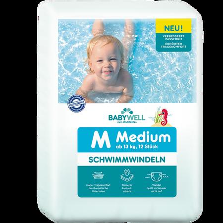 BABYWELL Schwimmwindeln M ab 13 kg