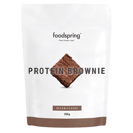 foodspring Protein Brownie Backmischung