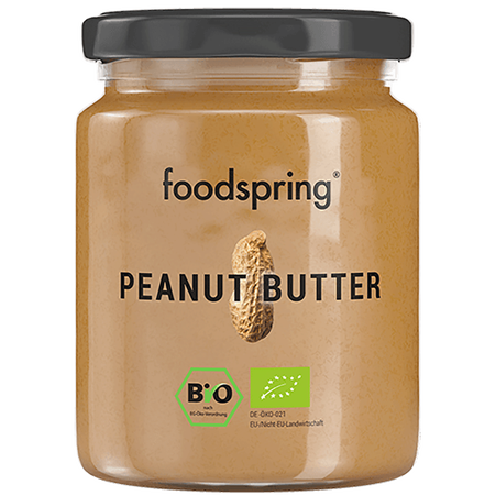 foodspring Bio Peanut Butter