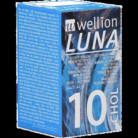 Wellion Luna Cholesterin Teststreifen