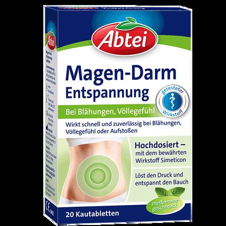 Abtei Magen-Darm Entspannung Kautabletten