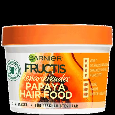 GARNIER FRUCTIS Reparierendes Papaya Hair Food 3in1 Maske