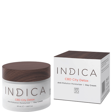 Indica CBD City Detox Anti-Pollution Tagescreme