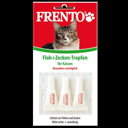 FRENTO Floh- & Zeckentropfen Katzen