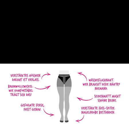 BI STYLED Strumpfhose ultrasoft 20 DEN
