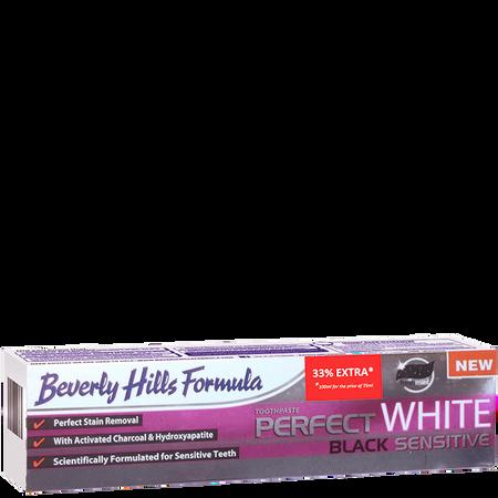 Beverly Hills Formula Perfect White Black Sensitive Zahncreme