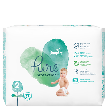Pampers Pure Protection Gr. 2 Mini 4-8 kg