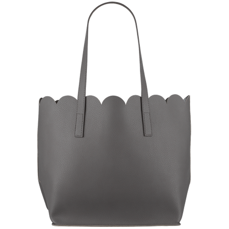 LOOK BY BIPA Wellenshopper Tasche grau