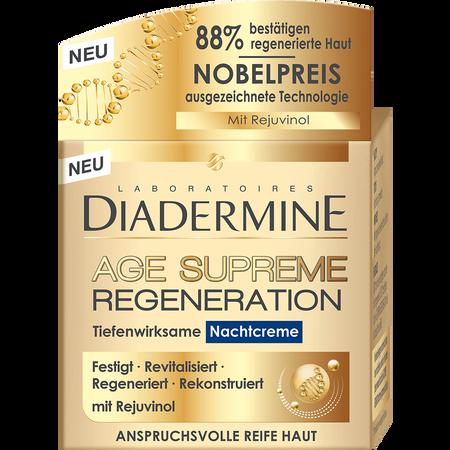 DIADERMINE Age Supreme Regeneration Nachtcreme