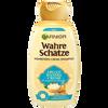 Bild: GARNIER Wahre Schätze nährendes Creme-Shampoo Argan-Mandel Creme