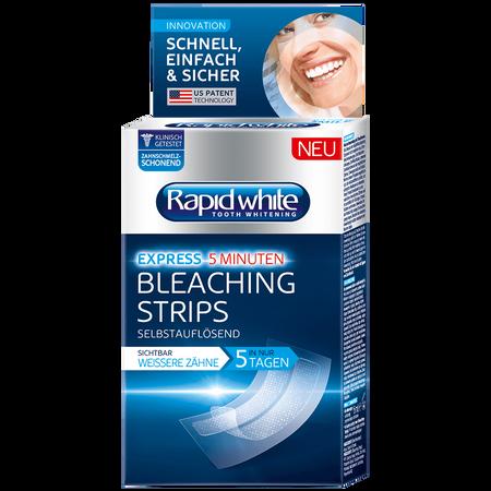 Rapid White Bleaching Strips