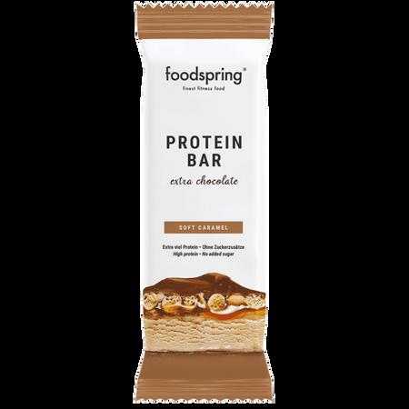 foodspring Protein Bar Soft Caramel