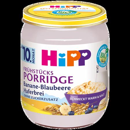 HiPP Frühstücks-Porridge Banane-Blaubeere Haferbrei