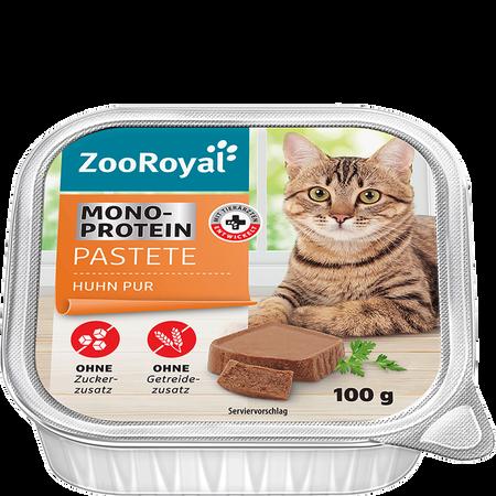 ZooRoyal Mono-Protein Pastete Huhn Pur