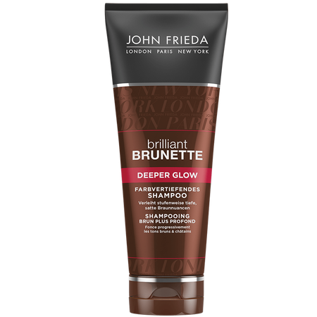 JOHN FRIEDA brilliant Brunette Deeper Glow farbvertiefendes Shampoo