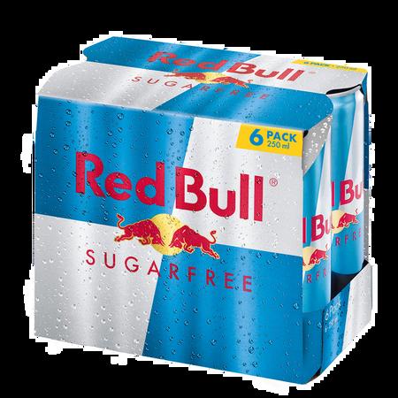 Red Bull Energy Drink Sugarfree 6er Pack