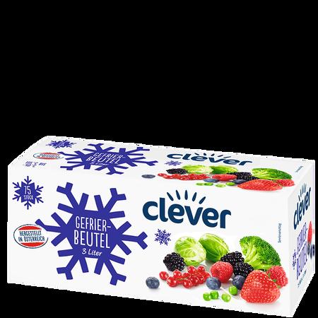 clever Gefrierbeutel 3 Liter