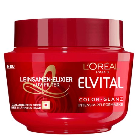 L'ORÉAL PARIS ELVITAL Color-Glanz Intensiv-Pflegemaske
