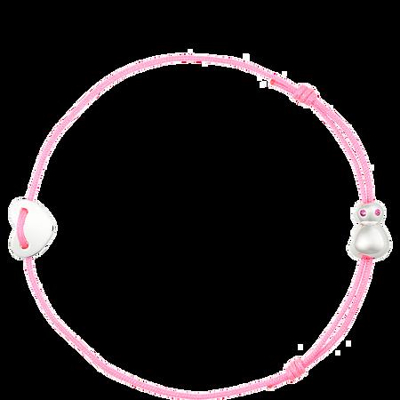 nomi flea goes around comes around Armband pink