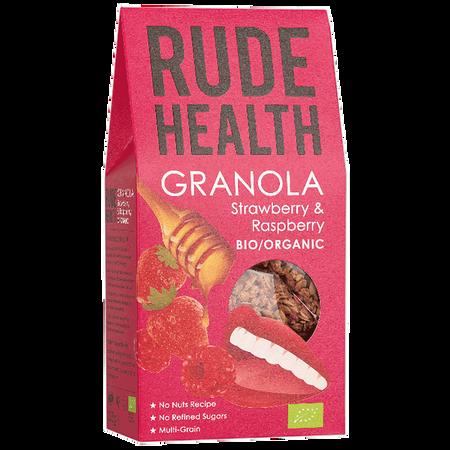 Rude Health Granola Erdbeere & Himbeere Müsli