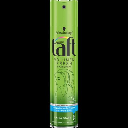 Schwarzkopf 3 WETTER taft Volume Fresh Haarspray