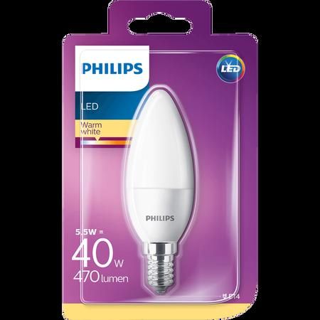 PHILIPS LED Kerze 40W E14 matt