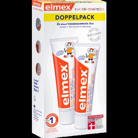 elmex Kinder-Zahnpasta Doppelpack