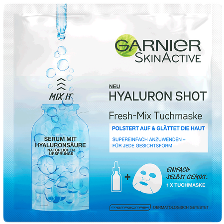 GARNIER SKIN ACTIVE Hyaluron Shot Fresh-Mix  Tuchmaske