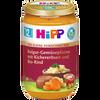 Bild: HiPP Feinschmecker Menü Gemüsepfanne mit Kichererbsen und Bio-Rind