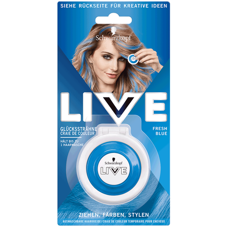 Schwarzkopf Live Color Haarkreide Fresh Blue