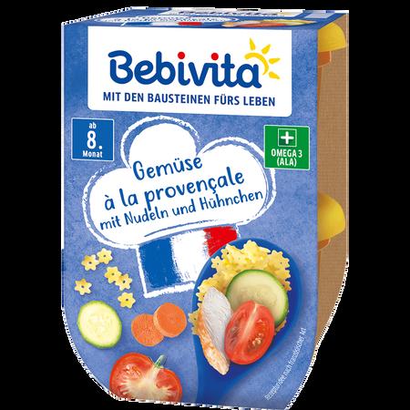 Bebivita Gemüse à la provençale mit Nudeln und Hühnchen