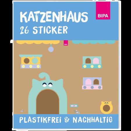 Badala Sticker Set Katzenhaus